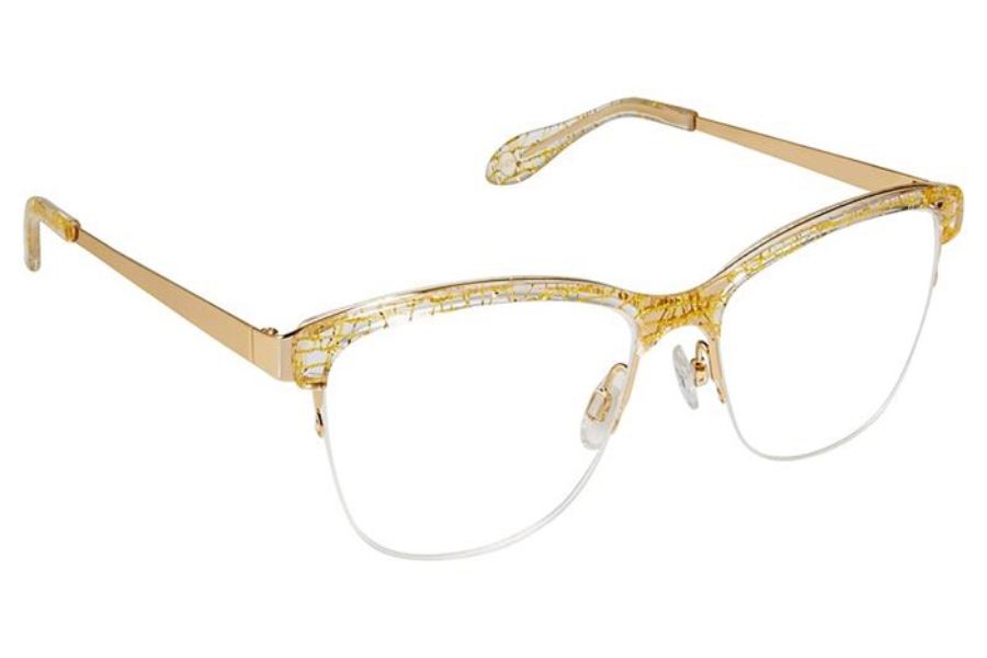 FYSH UK Collection FYSH 3598 Eyeglasses in 795 Crystal Gold