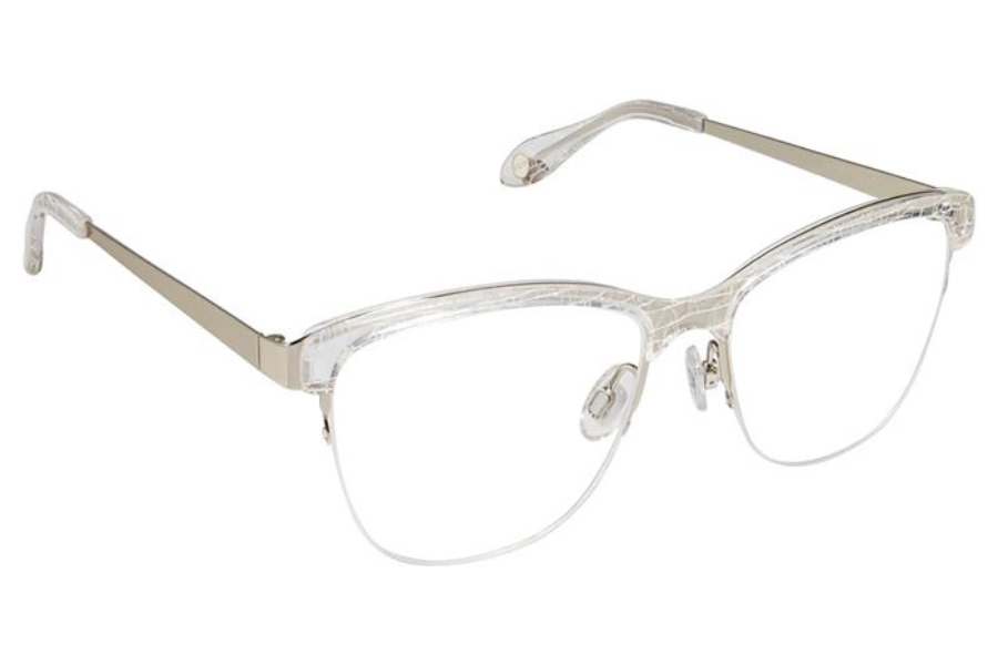 FYSH UK Collection FYSH 3598 Eyeglasses in 797 Crystal White