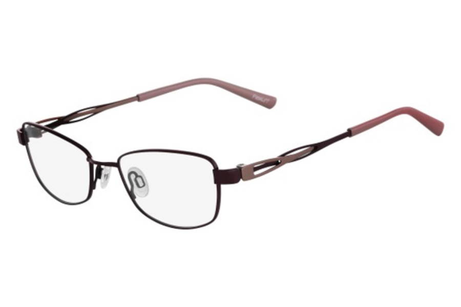 Flexon FLEXON DORIS Eyeglasses in 604 Burgundy