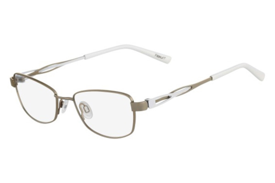 Flexon FLEXON DORIS Eyeglasses in 710 Light Gold