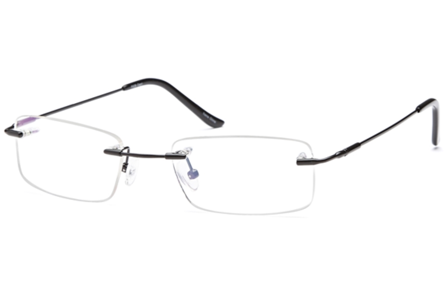 Flexure FX-26 Eyeglasses in Black