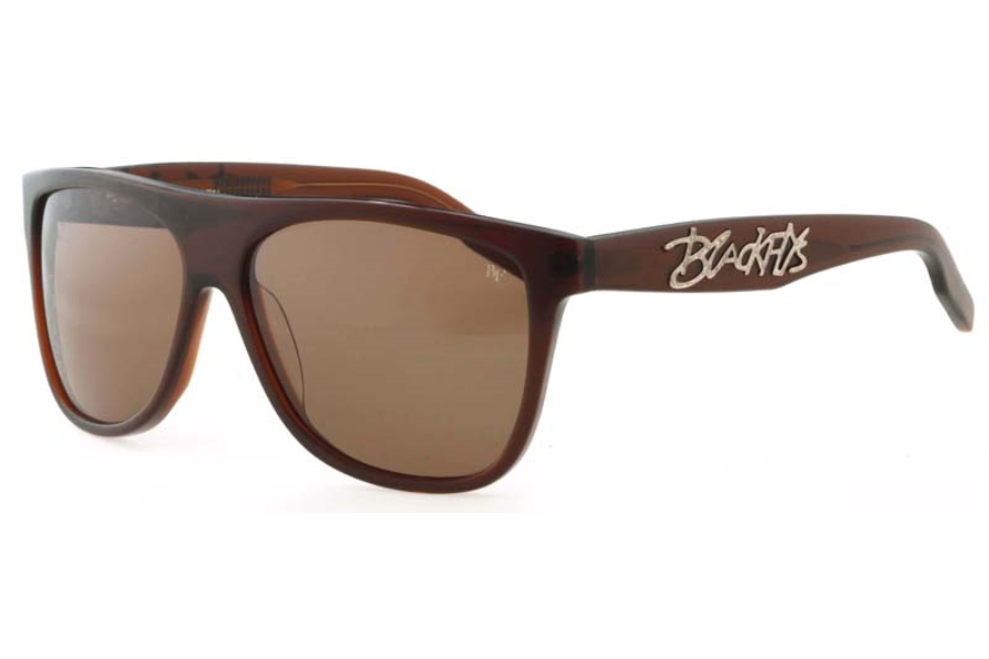 Black Flys FLY JOHNSON Sunglasses in Matte Brown/Brown Lens
