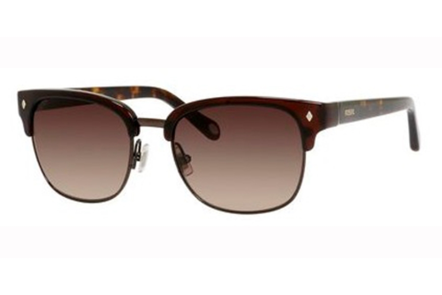 Fossil FOSSIL 2003/S Sunglasses in 01X7 Brown (Y6 brown gradient lens)