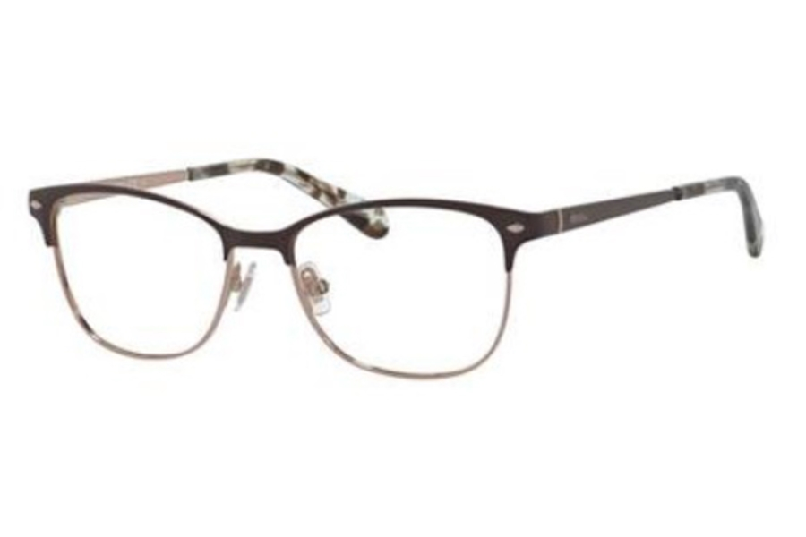 Fossil 7034 Eyeglasses in 04IN Matte Brown