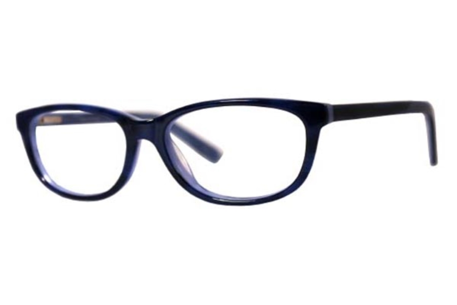 Foxy Swagg Eyeglasses in Cobalt