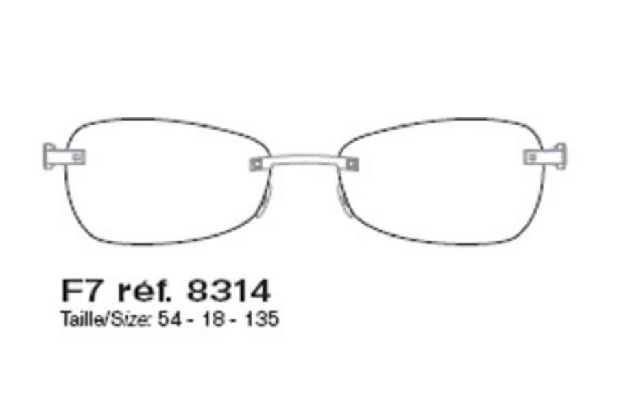 55812492dc ... FRED ST VINCENT F7 ECLAT 8314 Eyeglasses in FRED ST VINCENT F7 ECLAT  8314 Eyeglasses ...