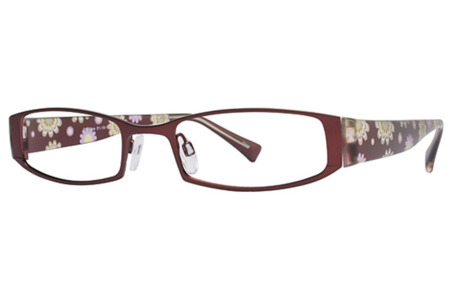 Fringe Benefit Spice Eyeglasses in Wine