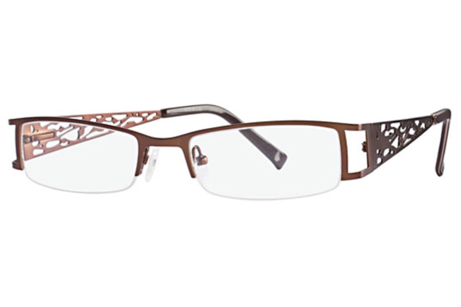 Fringe Benefit Victoria Eyeglasses in Brown