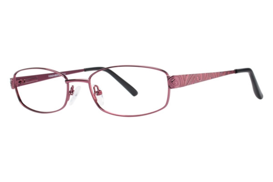 FUNDAMENTALS Eyeglasses F112 Rose 51MM