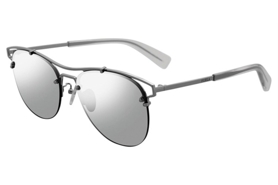 Furla SFU106 Sunglasses in Silver 579X