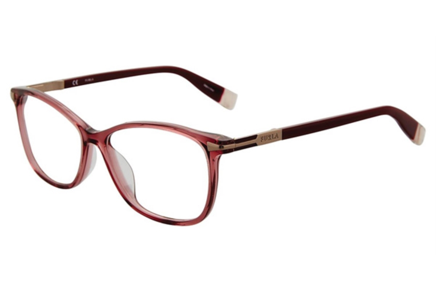 Furla VFU026 Eyeglasses in Plum 096D