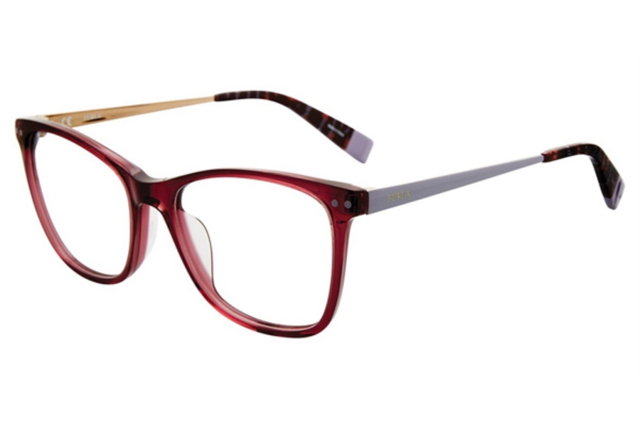 Furla VFU084 Eyeglasses in Plum 0W48