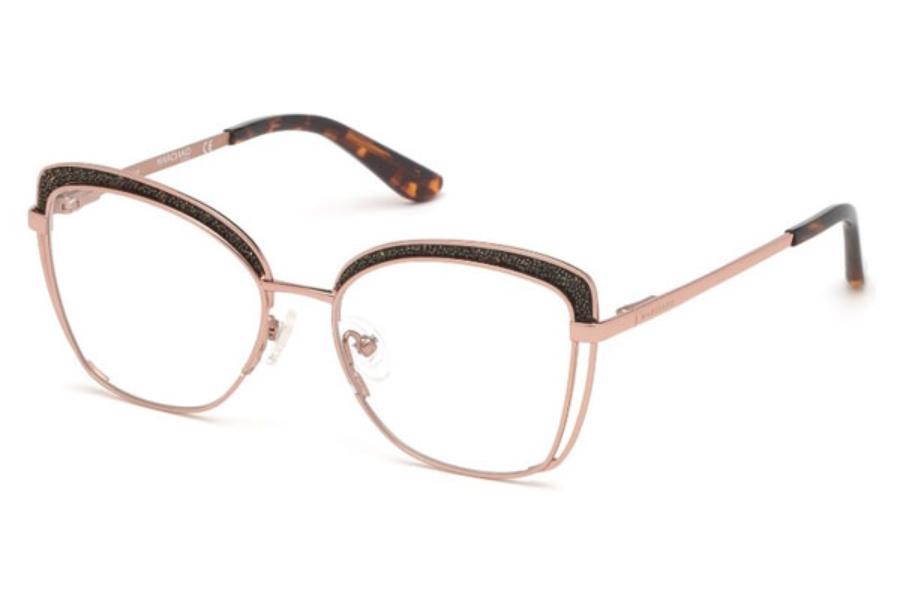 Guess by Marciano GM 344 Eyeglasses in 028 - Shiny Rose Gold