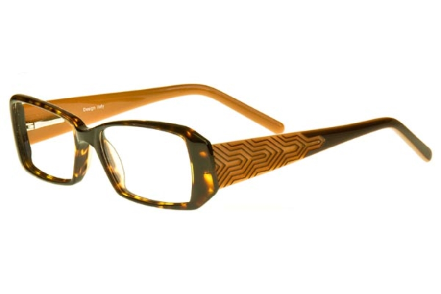 GiGi Weiss 3809 Eyeglasses in Demi / Brown