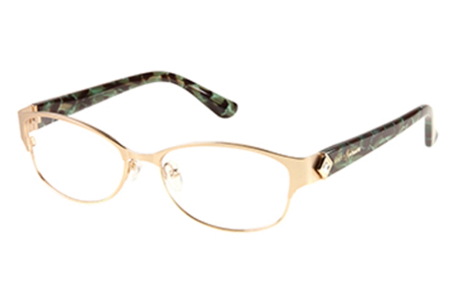 Guess by Marciano GM 211 Eyeglasses in GLDGN: Shiny Gold