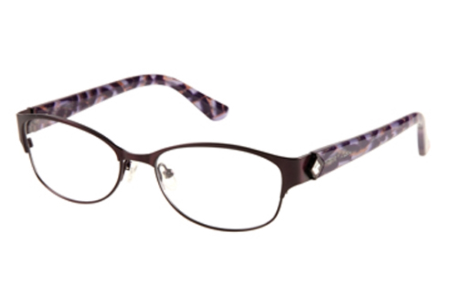 Guess by Marciano GM 211 Eyeglasses in PUR: Satin Purple