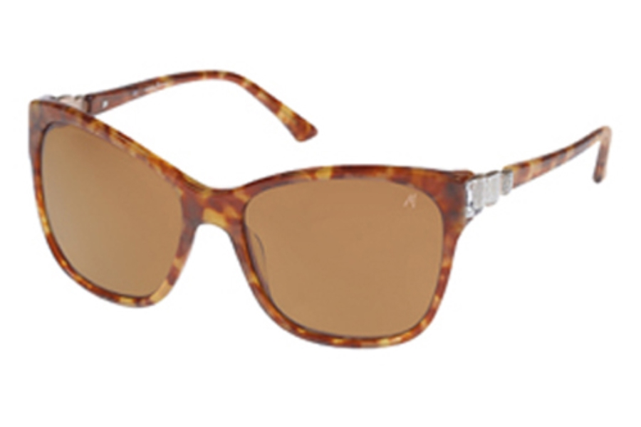 Guess by Marciano GM 651 Sunglasses in HNY-1 Honey Tort