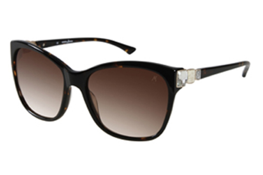 Guess by Marciano GM 651 Sunglasses in TOR-34 Tortoise