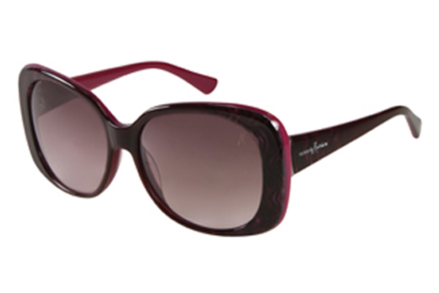 Guess by Marciano GM 657 Sunglasses in PUR-67 Purple Tiger
