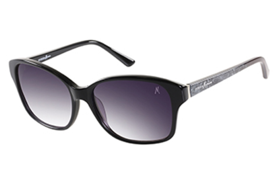 Guess by Marciano GM 704 Sunglasses in BLKSI-35: Black