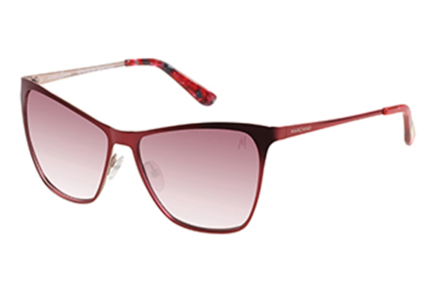 Guess by Marciano GM 713 Sunglasses in BUR-52: Burgundy/Rose