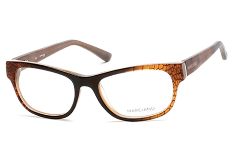 Guess by Marciano GM 261 Eyeglasses in 050 Dark Brown/Other