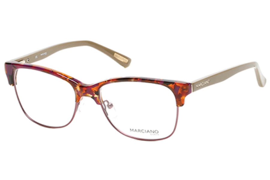 Guess by Marciano GM 265 Eyeglasses in 055 - Coloured Havana