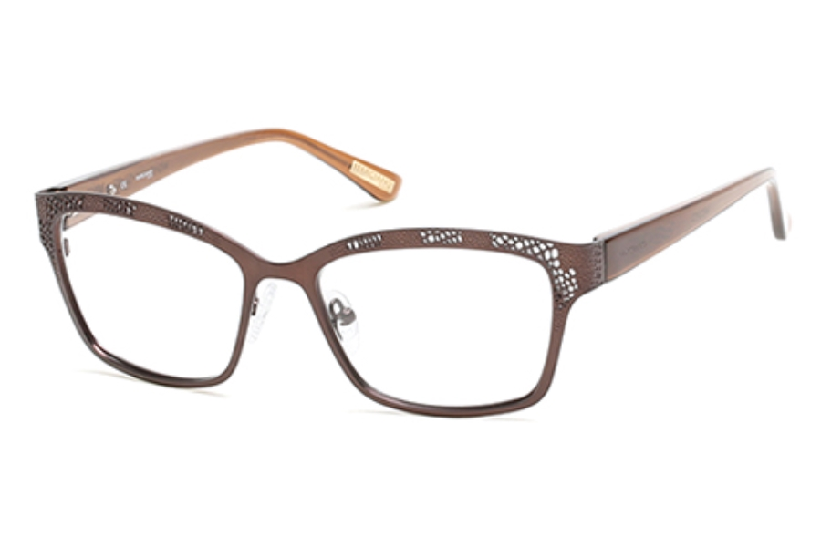 Guess by Marciano GM 274 Eyeglasses in 049 Matte Dark Brown