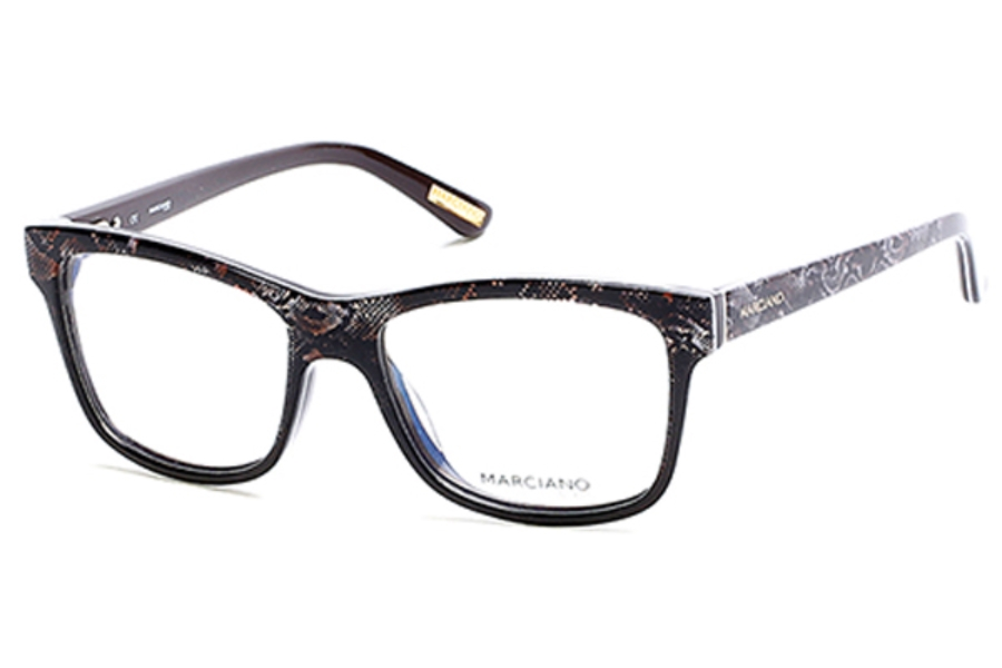 Guess by Marciano GM 279 Eyeglasses in 050 - Dark Brown/Other