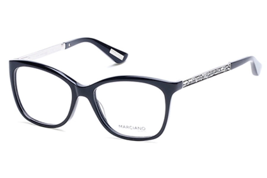Guess by Marciano GM 281 Eyeglasses in 001 - Shiny Black