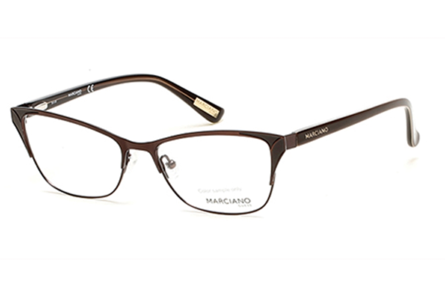 Guess by Marciano GM 289 Eyeglasses in 050 - Dark Brown/Other