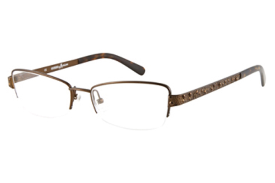 Guess by Marciano GM 140 Eyeglasses in SATIN BROWN