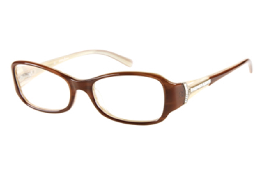 Guess by Marciano GM 142 Eyeglasses in AMB: AMBER/CREAM