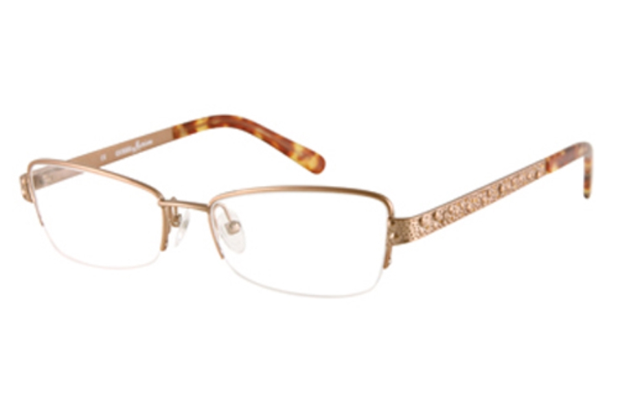Guess by Marciano GM 140 Eyeglasses in SATIN WARM GOLD