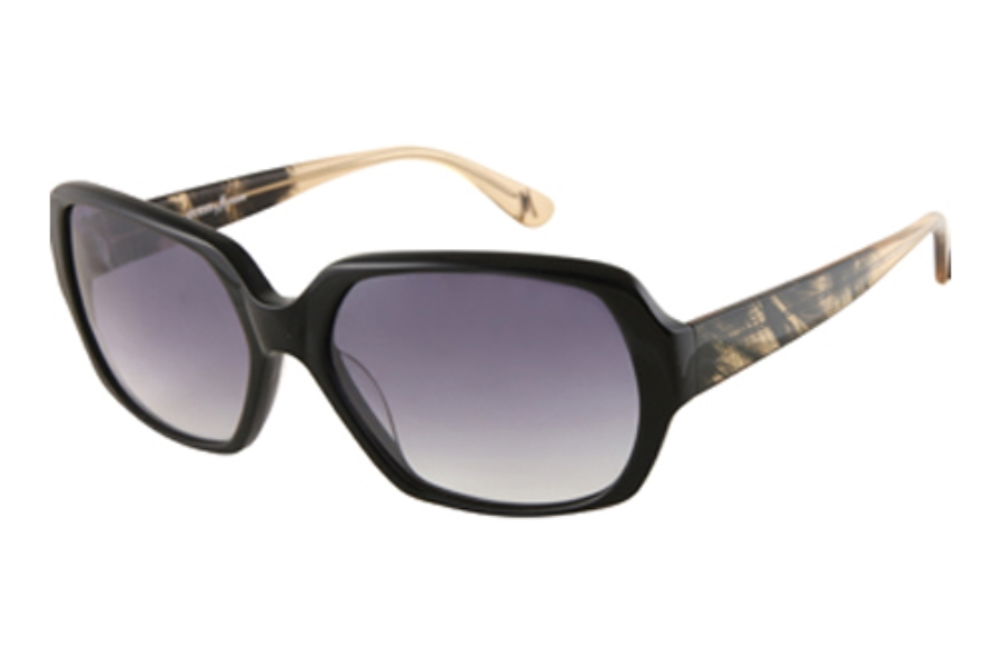 Guess by Marciano GM 629 Sunglasses in BLACK w/Grey Gradient Lenses - (/35)
