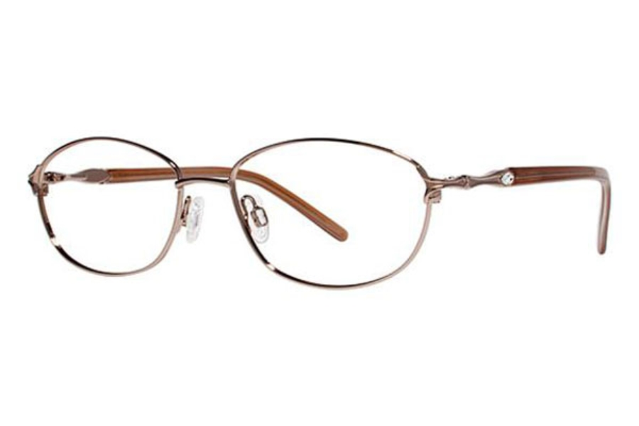 Genevieve Opal Eyeglasses in Brown