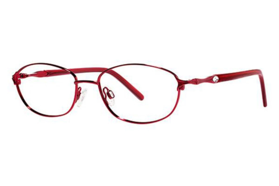 Genevieve Opal Eyeglasses in Burgundy