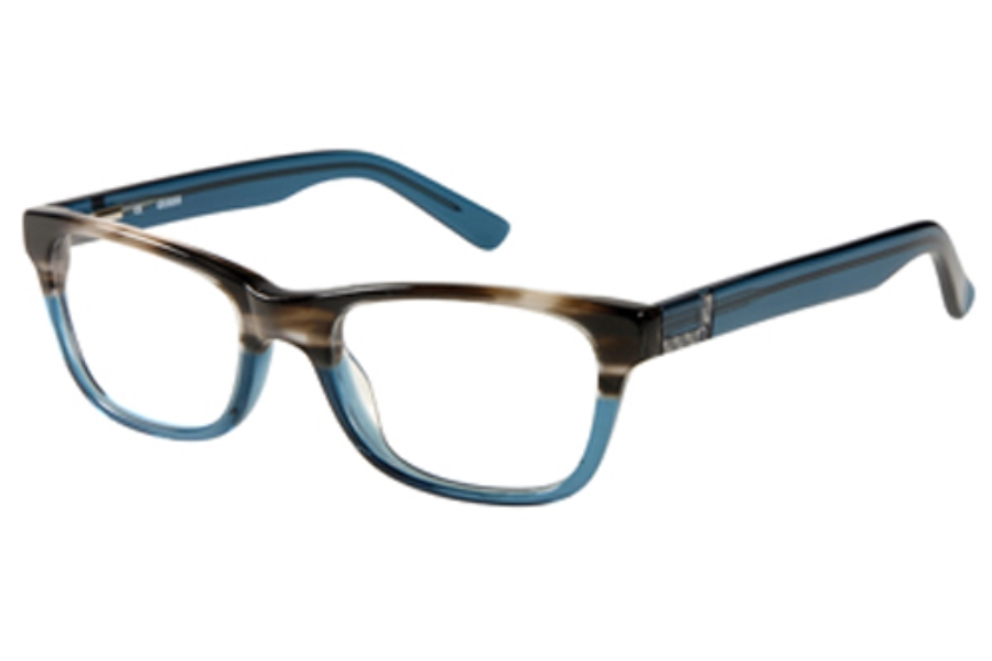 Guess GU 1749 Eyeglasses in GRYBL: Grey Blue