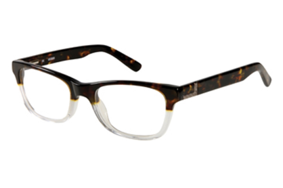 Guess GU 1749 Eyeglasses in TOCRY: Tort/Crystal