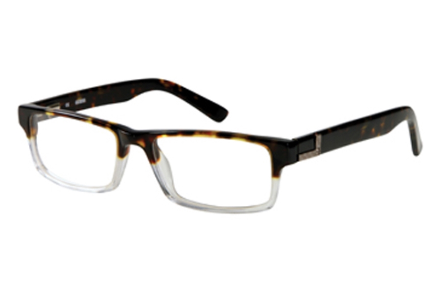Guess GU 1750 Eyeglasses in TOCRY: Tort/Crystal