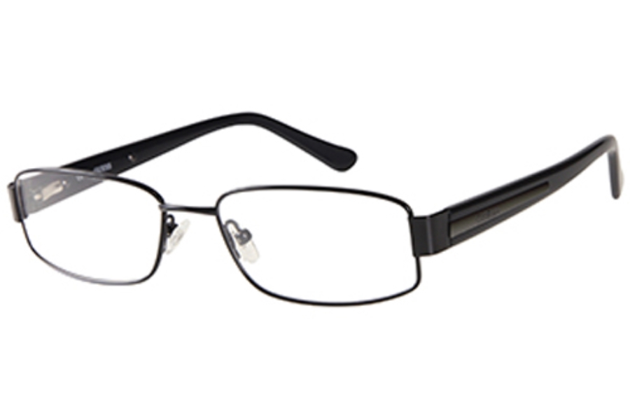 Guess GU 1757 Eyeglasses in NBLK: Black Satin