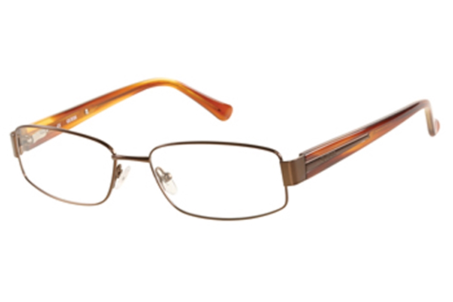 Guess GU 1757 Eyeglasses in NBRN: Satin Brown