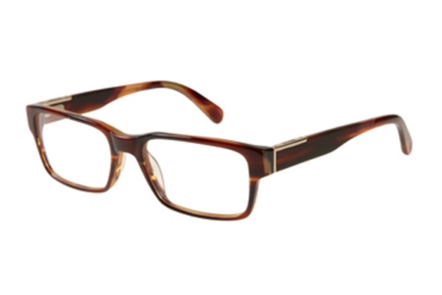 Guess GU 1775 Eyeglasses in D96 BRN Shiny Brown
