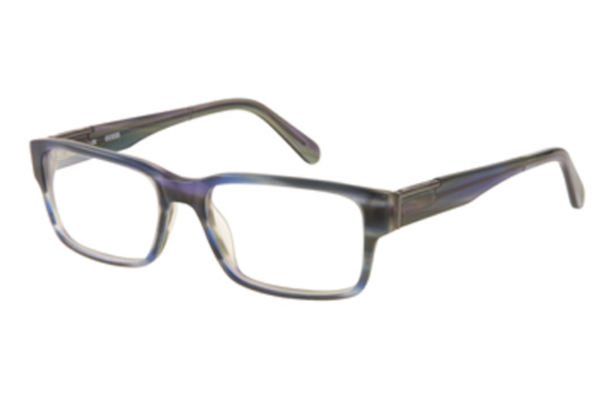 Guess GU 1775 Eyeglasses in L11 MBL Matte Blue