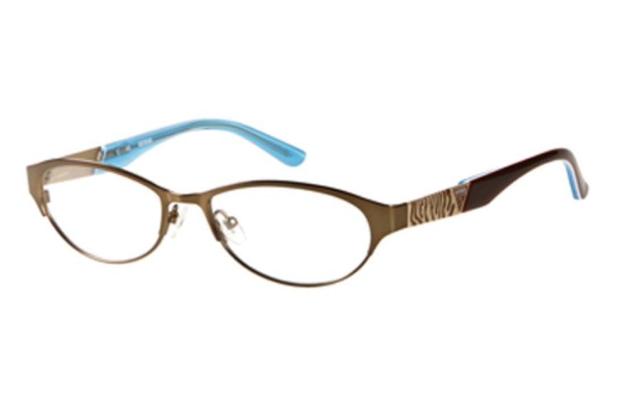 Guess GU 2354 Eyeglasses in BRN Satin Brown