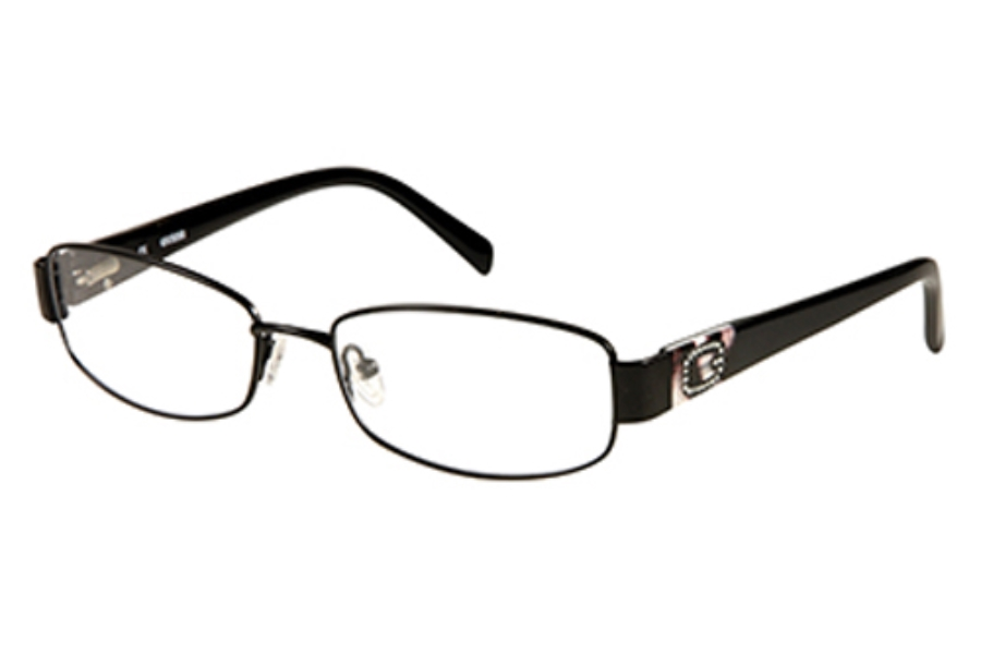 Guess GU 2367 Eyeglasses in BLK: Satin Black
