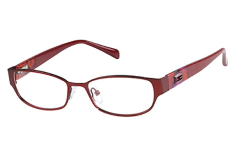 Guess GU 2412 Eyeglasses in RD: Satin Red