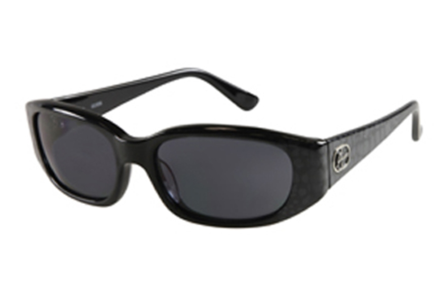 Guess GU 7219 Sunglasses in BLK-3 Black