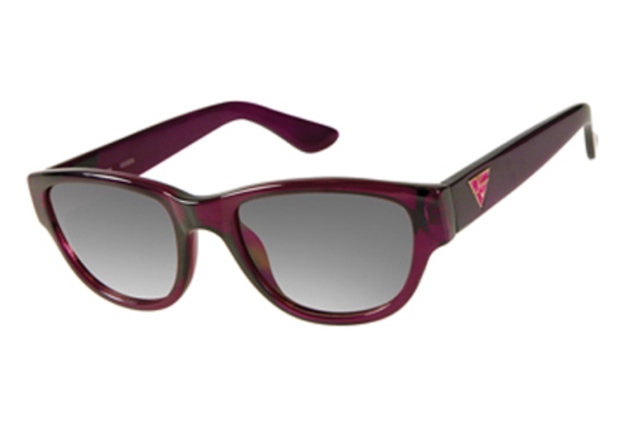 Guess GU 7223 Sunglasses in RSP-35 Rasp Crystal