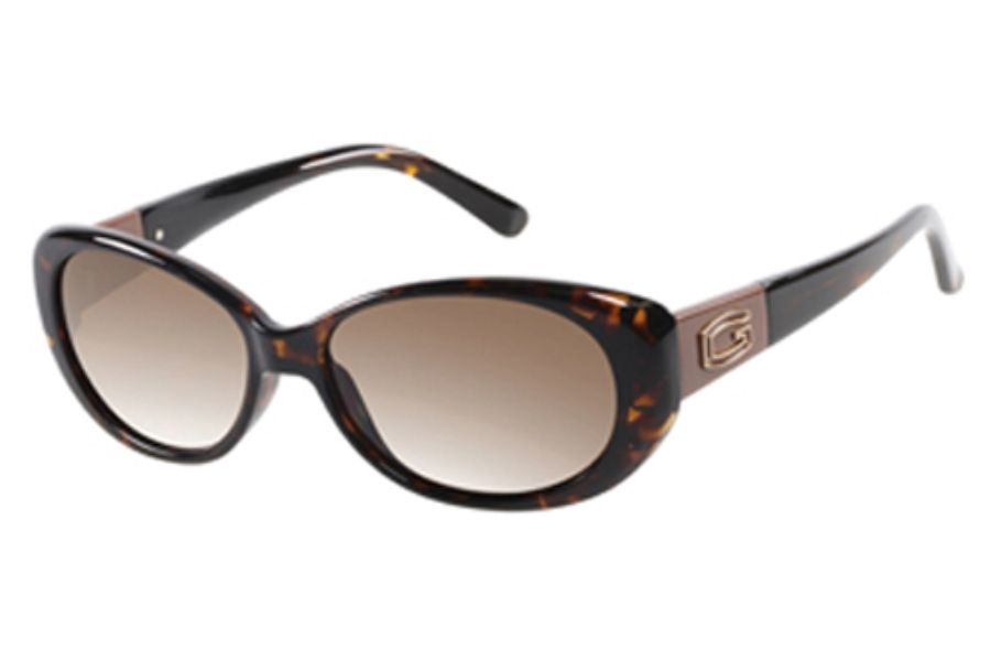 Guess GU 7261 Sunglasses in S44 To-1: Tortoise
